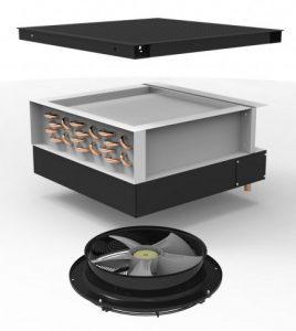 Actief ventilatiepaneel SFT Type Hydrologic